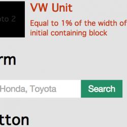 vw unit